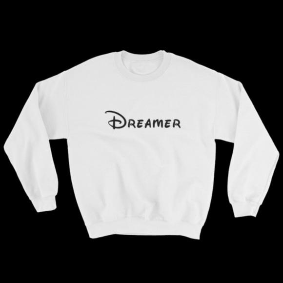 49a922ce Disney Tops | Dreamer Sweatshirt Bright White | Poshmark